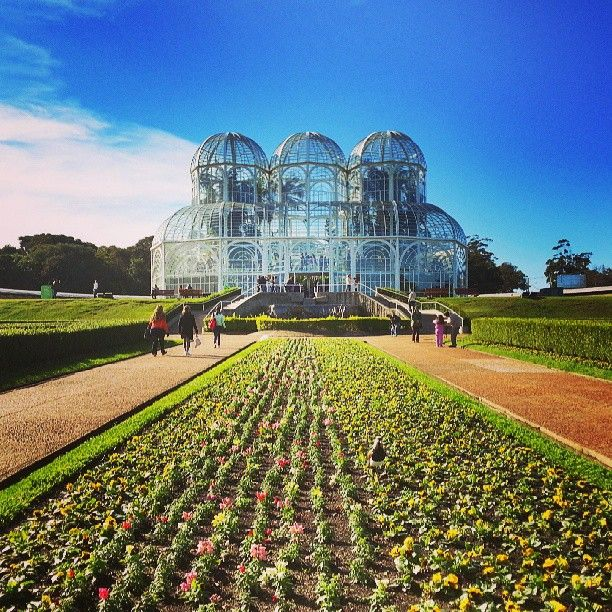 Jardim Botânico em Curitiba, PR