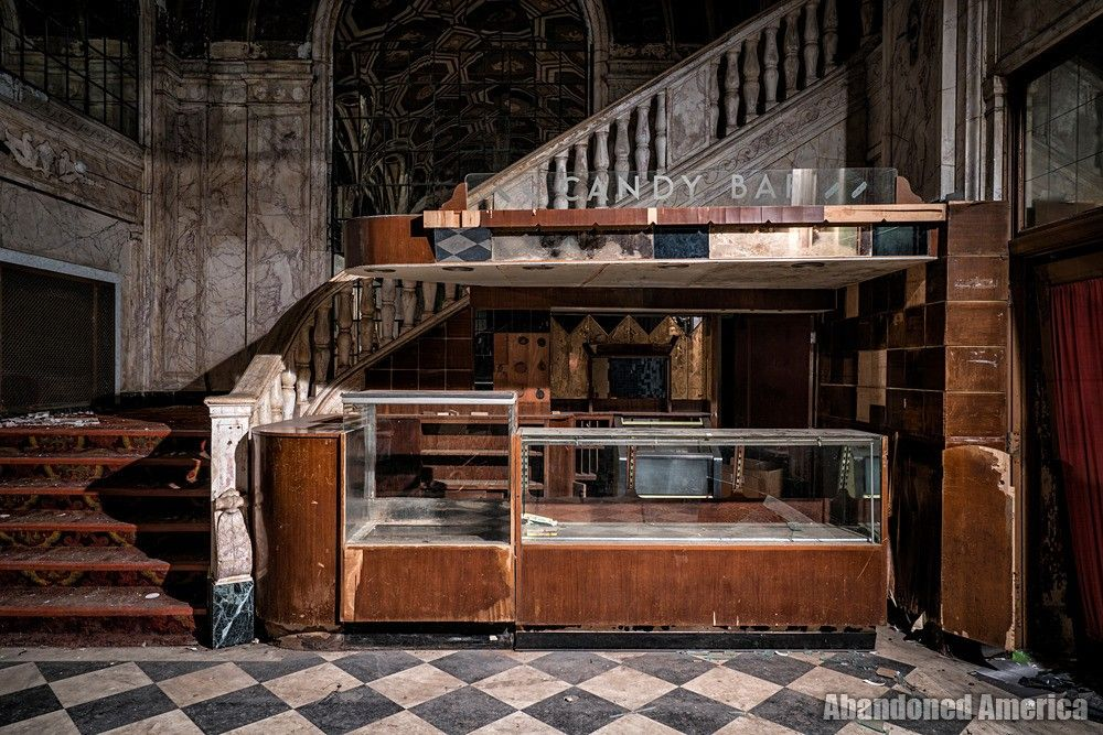 Americas abandoned theaters photo with images