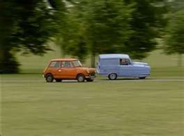 Mr Bean And His Rival In The Blue 3 Wheeled Car