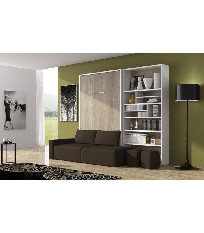 Los sof s con camas abatibles son muebles plegables perfectos para viviendas peque as uno de - Muebles plegables para viviendas pequenas ...
