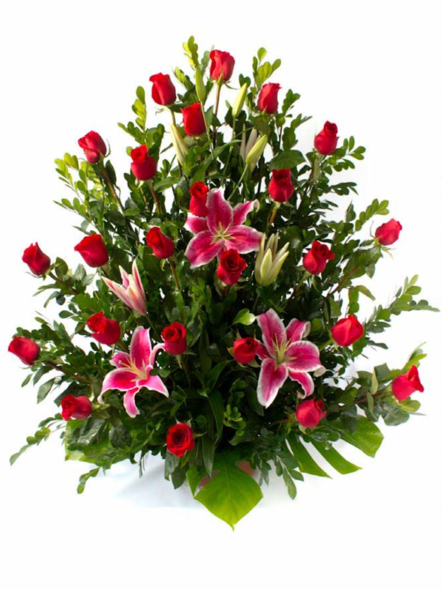 Happy Birthday Son Church Flower Arrangements Flower