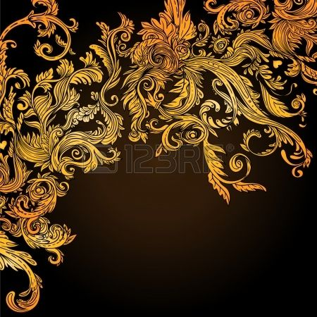 fond de cru brun motif baroque illustration vectorielle banque d 39 images stare reklamy. Black Bedroom Furniture Sets. Home Design Ideas