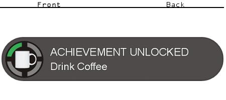 Achievement Unlocked Drink Coffee Coffee Drinks Drinks Unlock