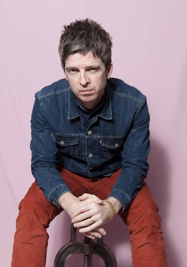 Noel Gallagher in De Volkskrant, 28.02.2015. Photo by Els Zw.