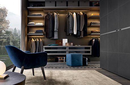 Unique Ubik Storage System By Poliform Australian Design Review Dressing Room Closet Bedroom