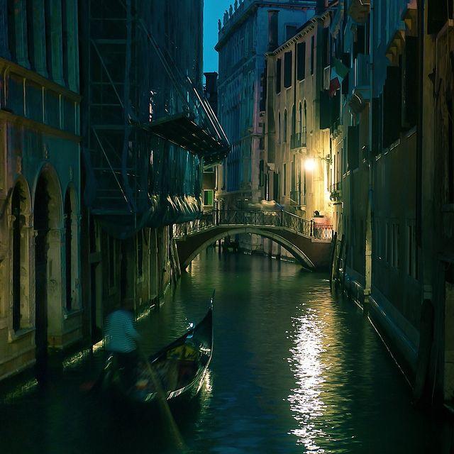 Venice.... Ride on a gondola...
