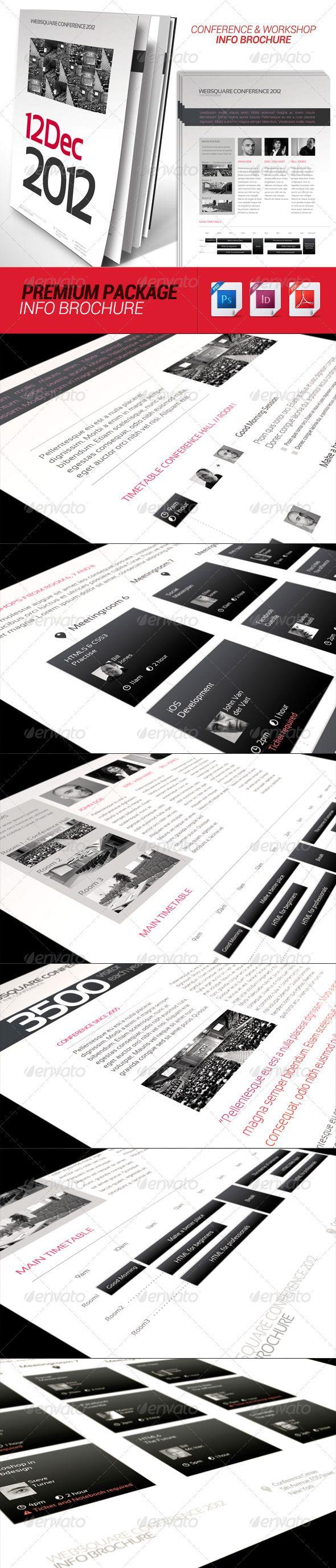 Conference Schedule Workshop Info Brochure Brochures - Workshop brochure template