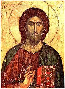 Icône du Christ Pantocrator