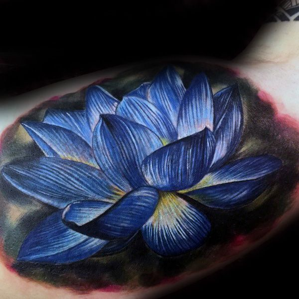 1e7a4f575 100 Lotus Flower Tattoo Designs For Men - Cool Ink Ideas | Tattoos ...