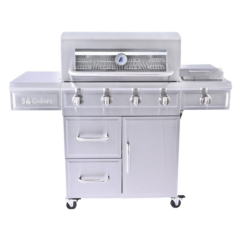 3 Embers Gas7480bs 4 Burner Gas Grill In 2019 Propane Gas Grill Best Gas Grills Grilling