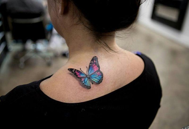 Acuarela Tatuaje Mariposa 22 Super Moderno Y Grandes Ideas De Diseno Estilostatuaje Tatuaje Realista De Mariposa Tatuaje Purpura De Mariposa Mariposa Tatuaje