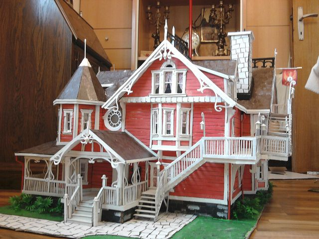 Coraline Pink Palace Miniature Houses Miniature House Pink Palace