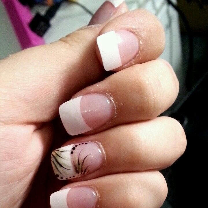 Pin By Carisa Morrison On Nails French Nail Designs Manicures Designs French Manicure Designs