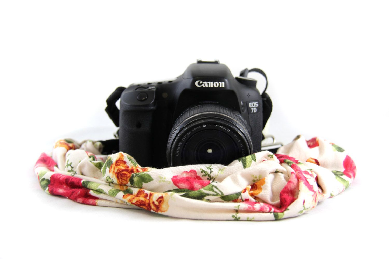 English Rose Scarf SLR Camera Strap by CapturingCouture on Etsy
