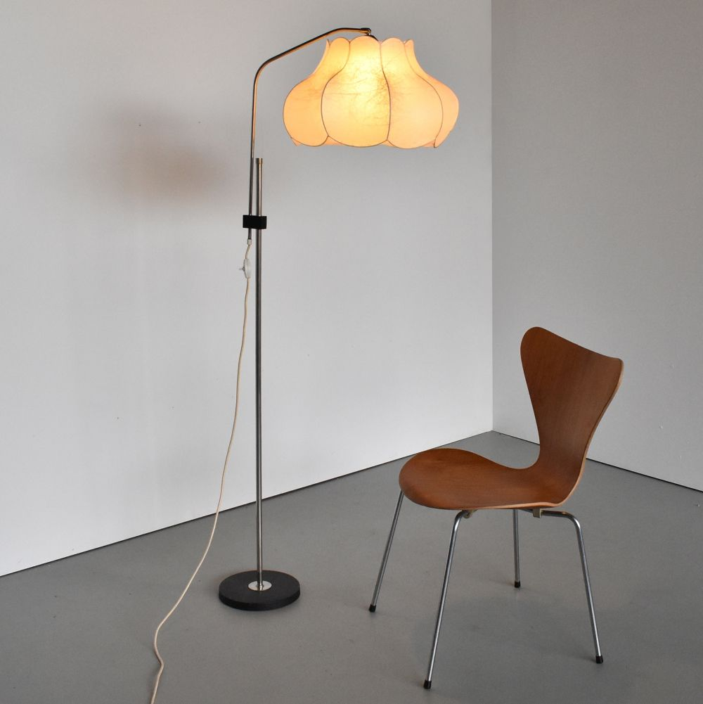 For sale Vintage Cocoon Floor Lamp, 1960s Floor lamp