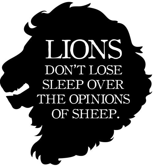 Lion Sheep Quote: Wicked Clothes Presents Our Latest Item: The 'Don't Lose