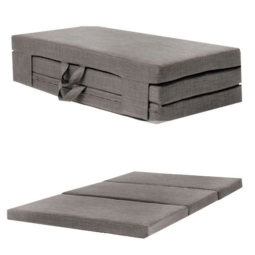 slate grey double 4ft folding sofabed futon fold out foam guest mattress bed slate grey double 4ft folding sofabed futon fold out foam guest      rh   pinterest