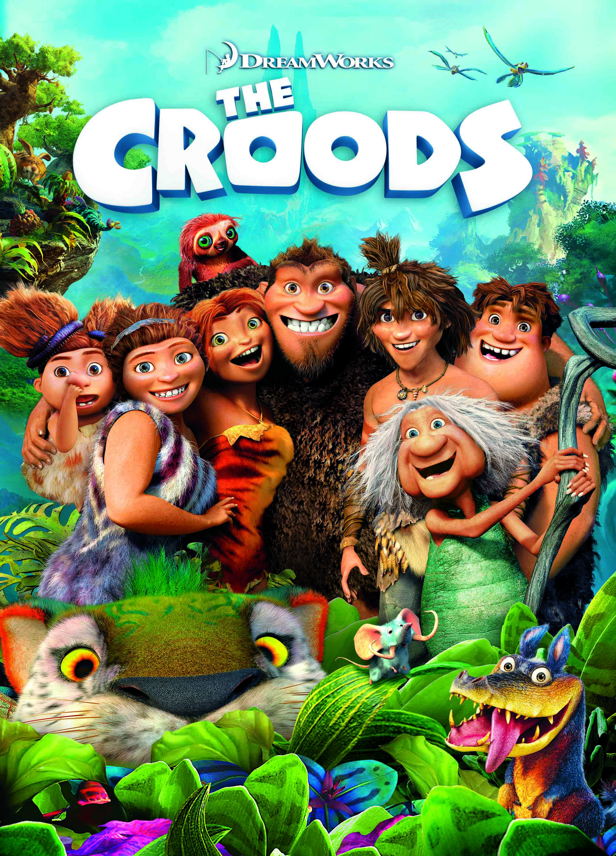 the croods are coming to dvd on october 1st | movie, dreamworks and