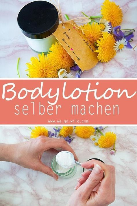 Photo of Make your own body lotion with shea butter and coconut oil for dry …