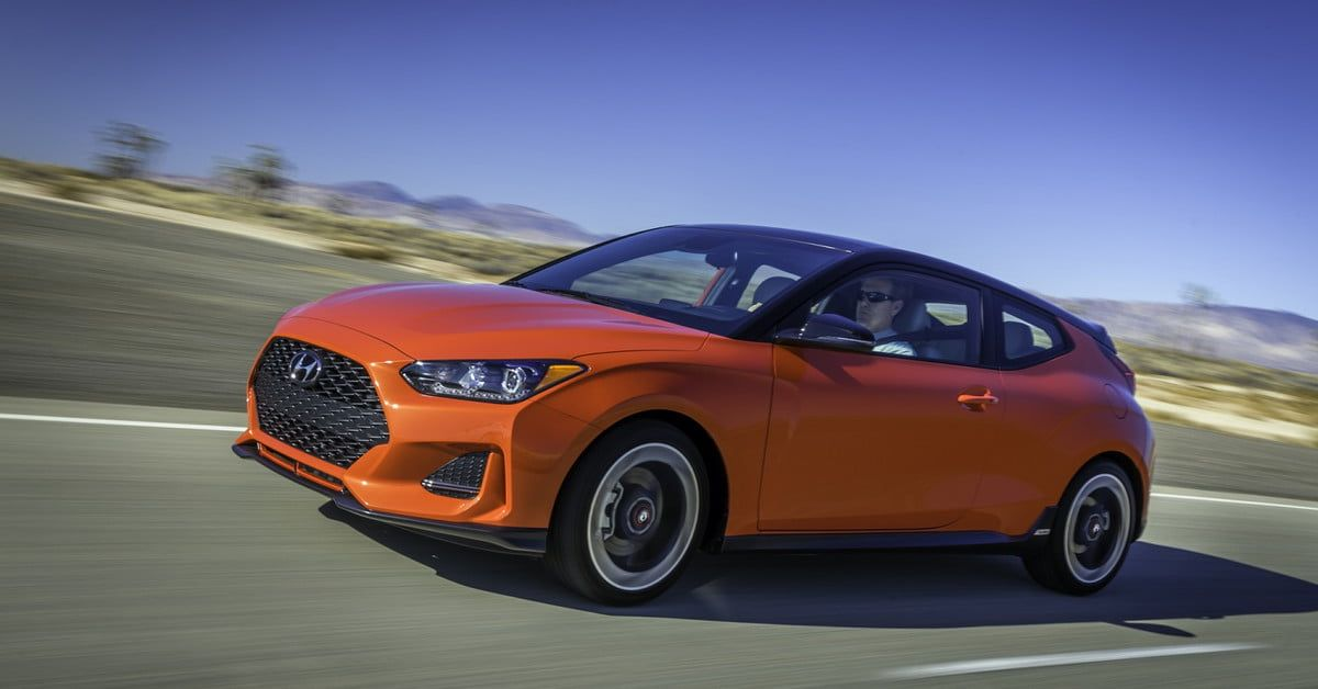 2019 Hyundai Veloster Starts at 19,385, Hits Showrooms