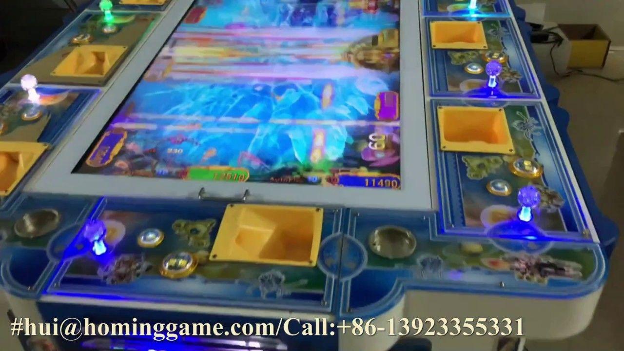 Kong Fishing Arcade Table Game Machine 3d Fishing Game Machine