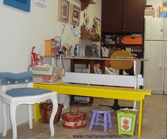 CRiações em família & cia.: A cadeira renovada + PAP