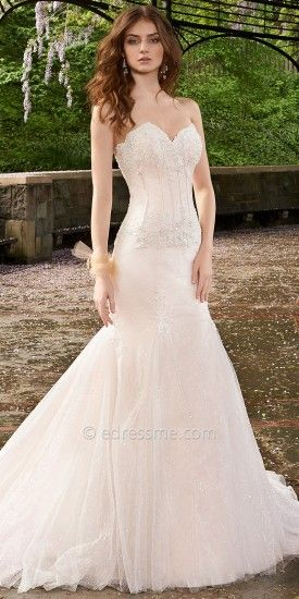 Corset Mesh Wedding Dresses by Camille La Vie #edressme