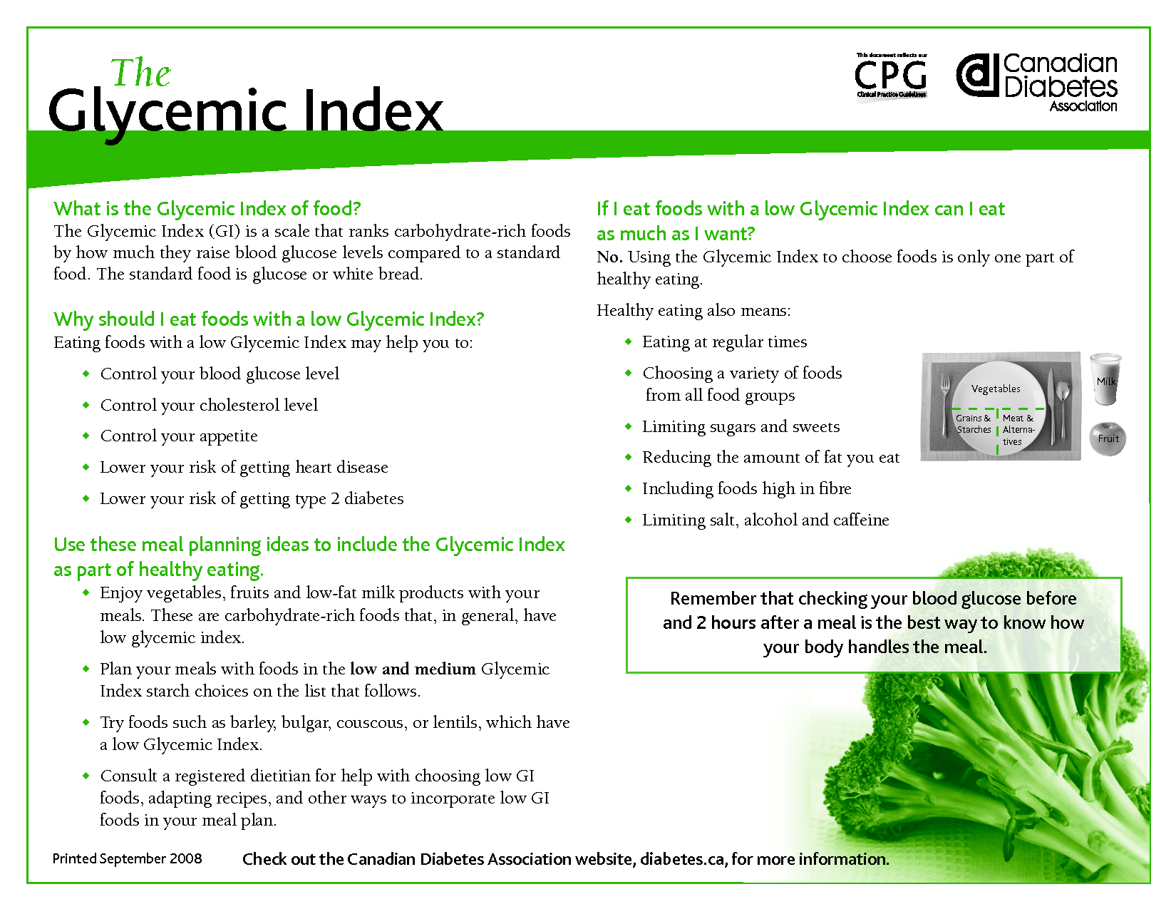 Low Glycemic Index Foods  Glycemic Index Pdf  Health Bites