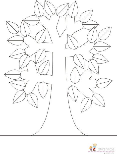 Plantillas Gratuitas De árbol Genealógico Educación Arbol