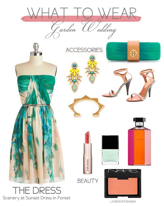 Layers Of Meaning Blog What To Wear Garden Wedding