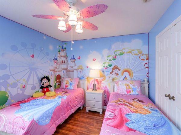 20 Inspired Disney Bedroom Theme For Little Girls | Disney ...