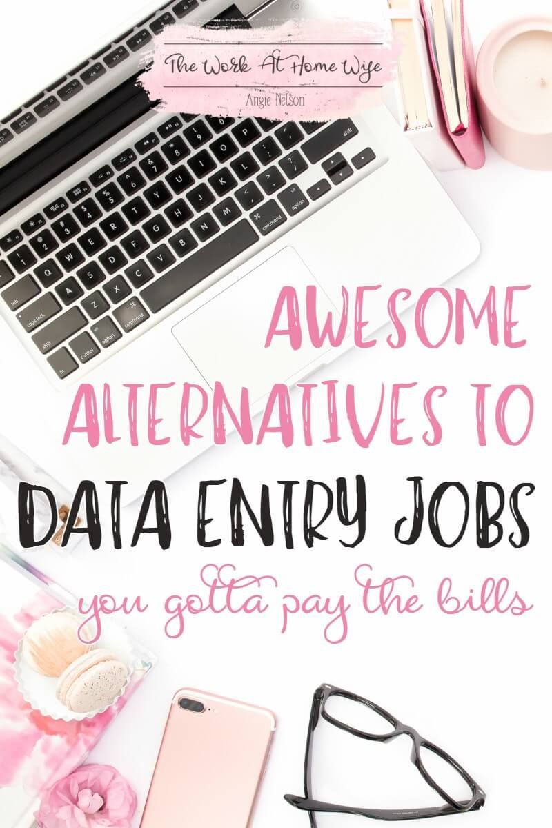 Where to Find (Legit) Data Entry Jobs from Home | Online data entry ...