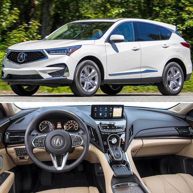 Acura RDX 2019 SUV Compacto Conquistou As Classificações