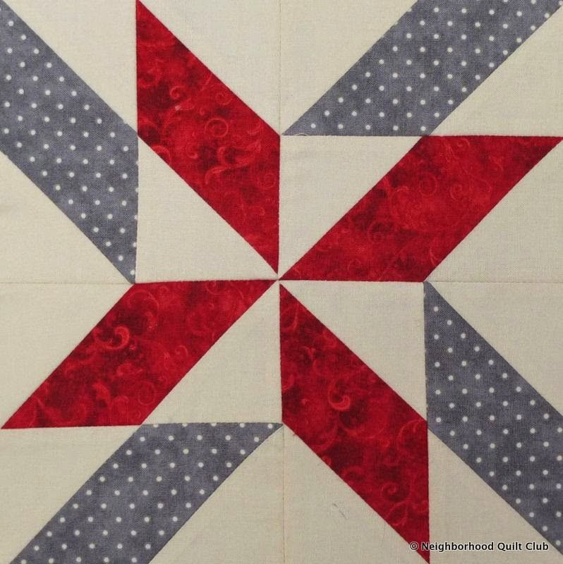 Neighborhood Quilt Club: Windy Days – Quilt Block Tutorial using ... : parallelogram quilt pattern - Adamdwight.com