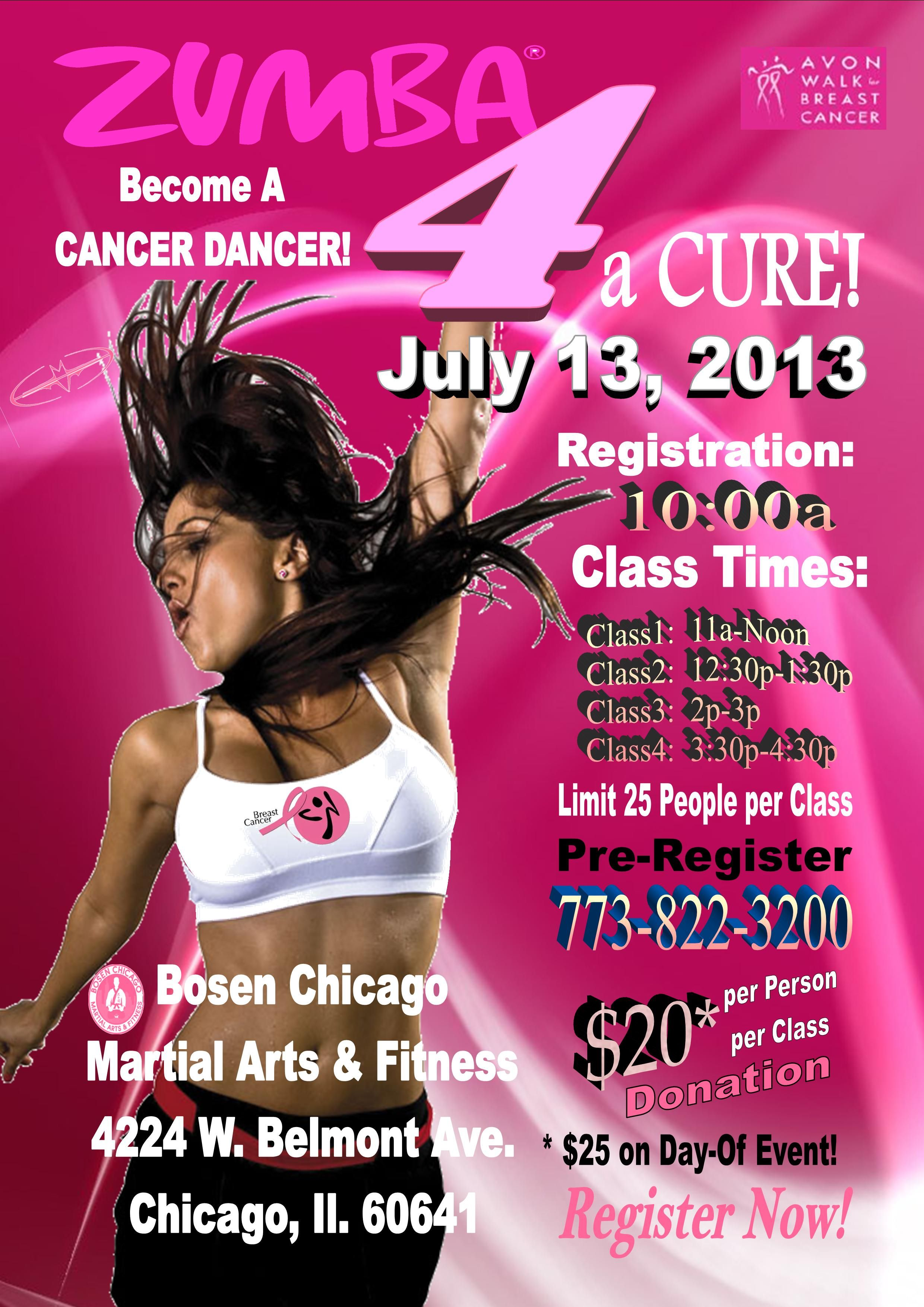 Watch Beating Breast Cancer With Zumba video