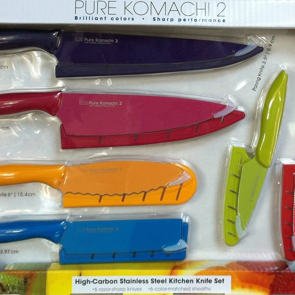 Pure Komachi 2 High Carbon Stainless Steel Kitchen Knife Set