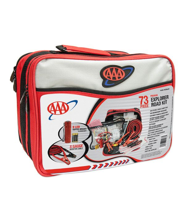 Take a look at this AAA 73-Piece Explorer Road Kit on zulily today!