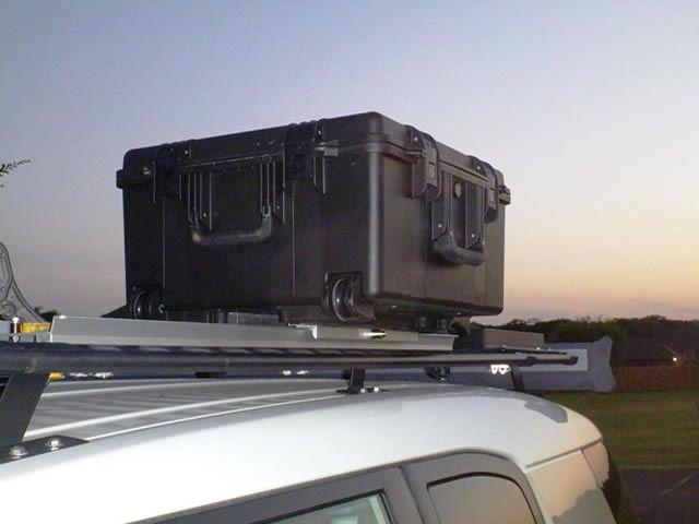 fj cruiser overlanding roof rack