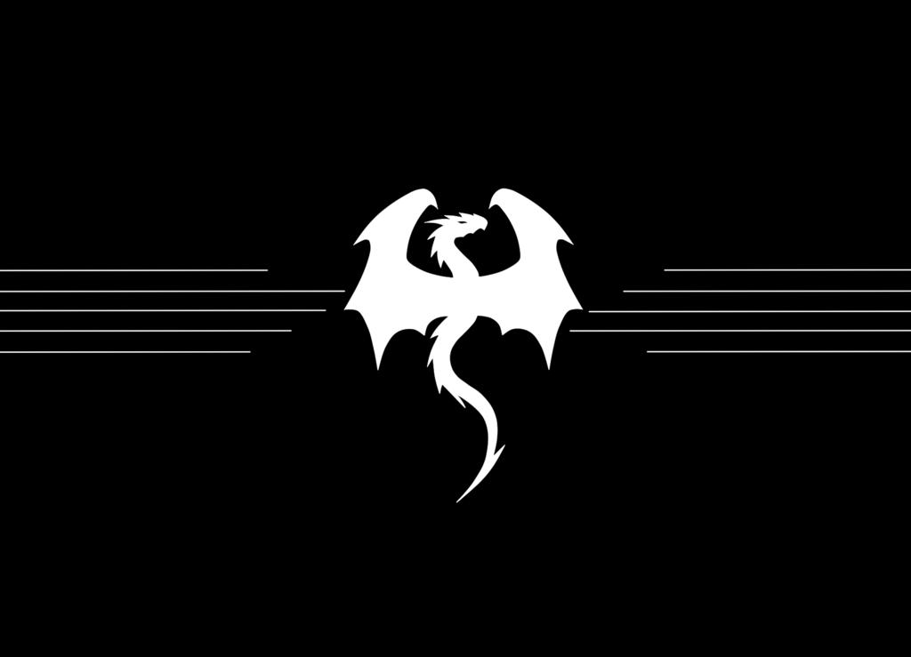 Dragon Logo By Stringensemble On Deviantart Dragon Silhouette Logo Dragon Bff Drawings