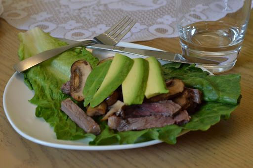 Mushroom & Steak Wrap | virginia is for hunter-gatherers