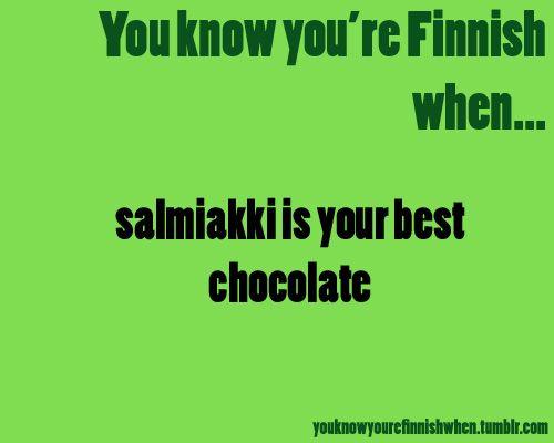 - Salmiakki -