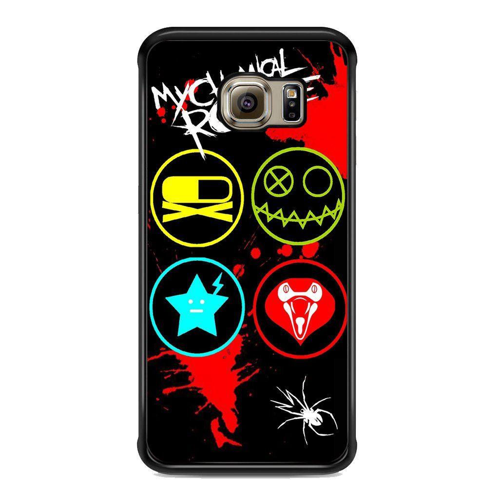 My Chemical Romance Killjoy Symbols For Samsung Galaxy S6 Edge Plus