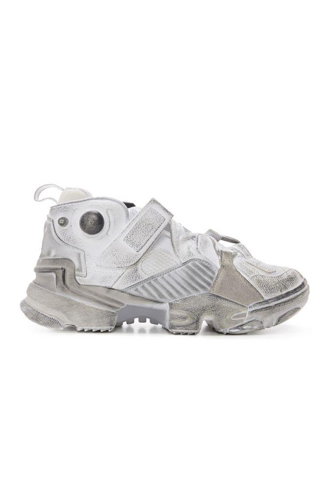 a65e69856ddd vetements x reebok genetically modified sneakers