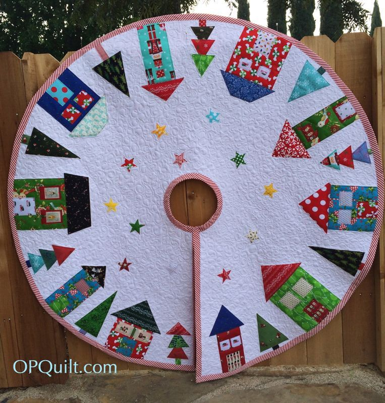 Christmas Tree Skirt   Tree skirts, Christmas tree and 1970s