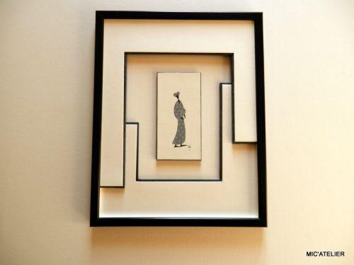 17 beste idee n over encadrement op pinterest cadre en carton cartonnage photo en fabriquer - Fabriquer un cadre en carton ...