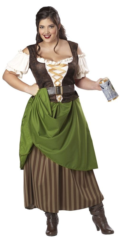 Tavern Maiden Adult Womens Plus Size Costume - 352776 Womens - halloween costume ideas plus size