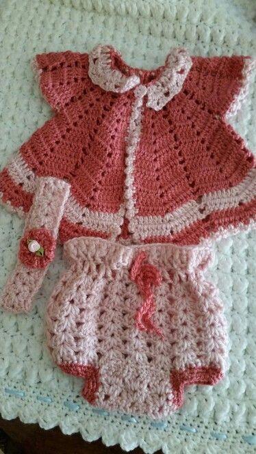 Vestido niña croche.wela creaciones