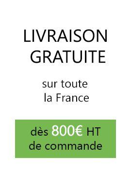 Livraison gratuite sur toute la France !