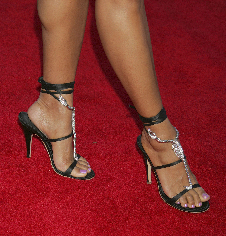 Eva La Rues Feet