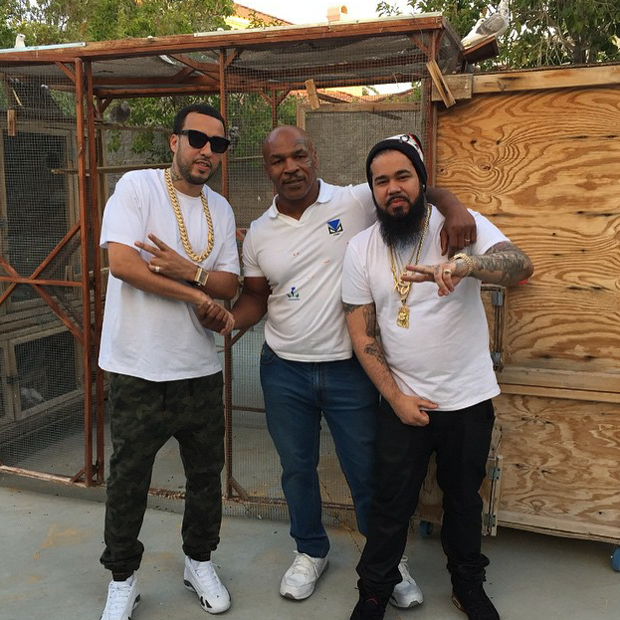 brand new adb86 c575a French Montana in the Air Jordan 14 Cinder